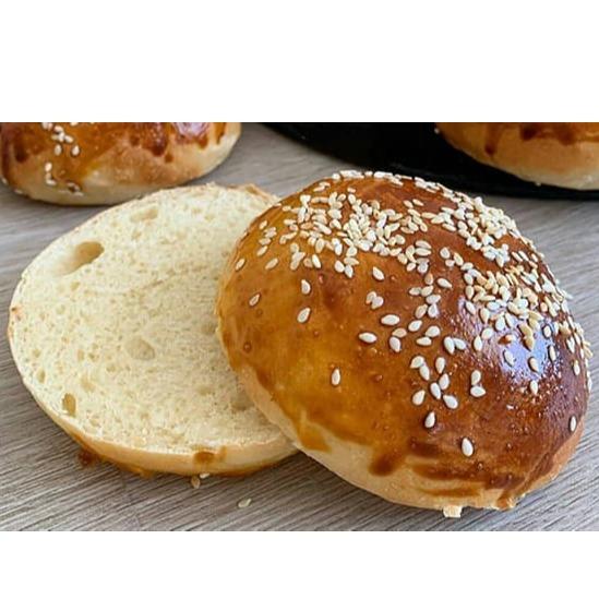نان همبرگر حجیم
